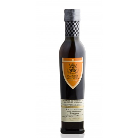 Vinagre de vino tinto Marques de Valdueza 250 ml botella