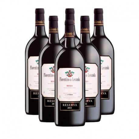 Florentino de Lecanda. Reserva 2011 Magnum (Haro) Rioja caja 6 botellas