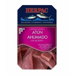 Atún ahumado en aceite (caja 250grs)  salazones Herpac