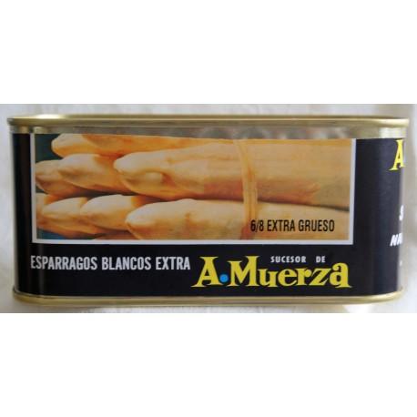 Espárragos 6-8 frutos (Lata 1 Kg) Camparola Vda. de Cruz Muerza (San Adrián - NAVARRA)