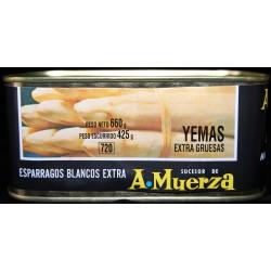 Yemas Extra (Lata 720 grs)Camparola Vda. de Cruz Muerza (San Adrián - NAVARRA)
