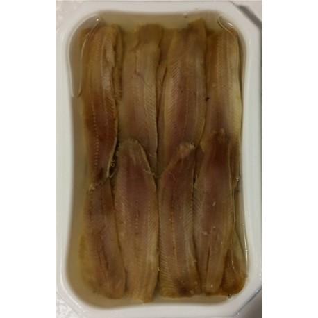Sardinas Ahumadas en aceite (caja 250grs) salazones Herpac.