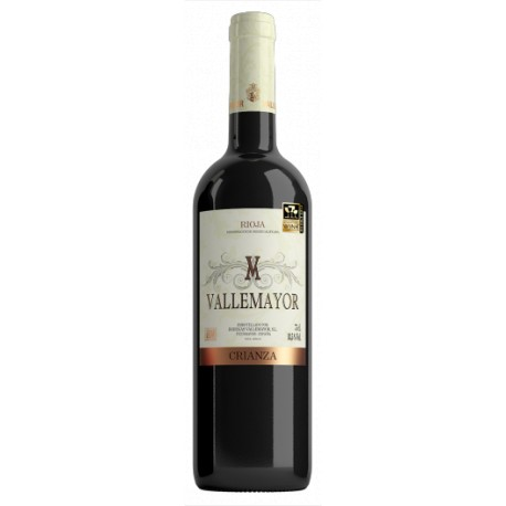 VALLEMAYOR crianza 2014 caja 12 botellas La Rioja
