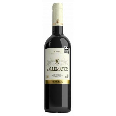 Vallemayor reserva 2010 caja 12 botellas La Rioja